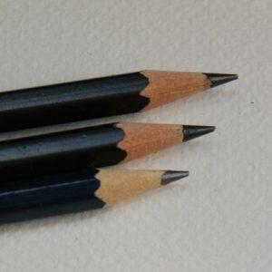 Mal-mit-Stift, 3 Bleistifte